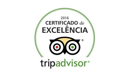 2016 Certificate of Excellence by TripAdvisor to Aitor Delgado Tours