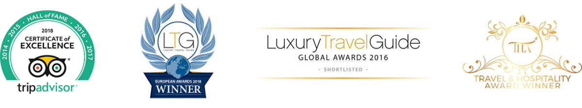 TripAdvisor Excellence & Luxury Travel Guide Awards won by Aitor Delgado