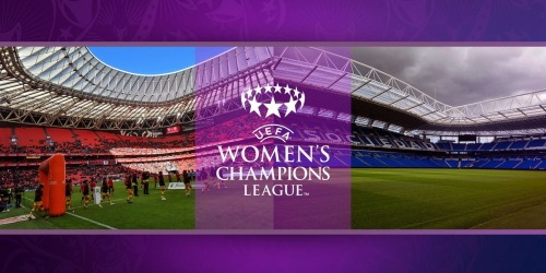 Logo UEFA Women World champion League august 2020 in Bilbao and San Sebastian