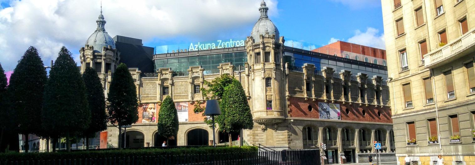 Azkuna Center Bilbao Vizcaya Aitor Delgado Tours