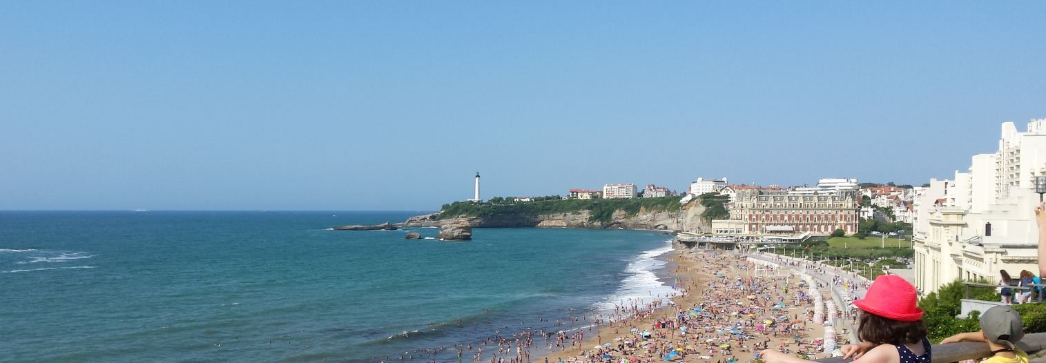 Biarritz - Grand Plage. French Basque Country