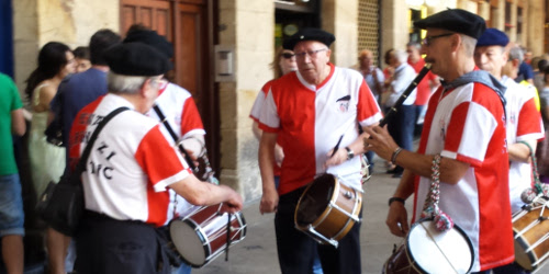 Basque traditional flute and drum