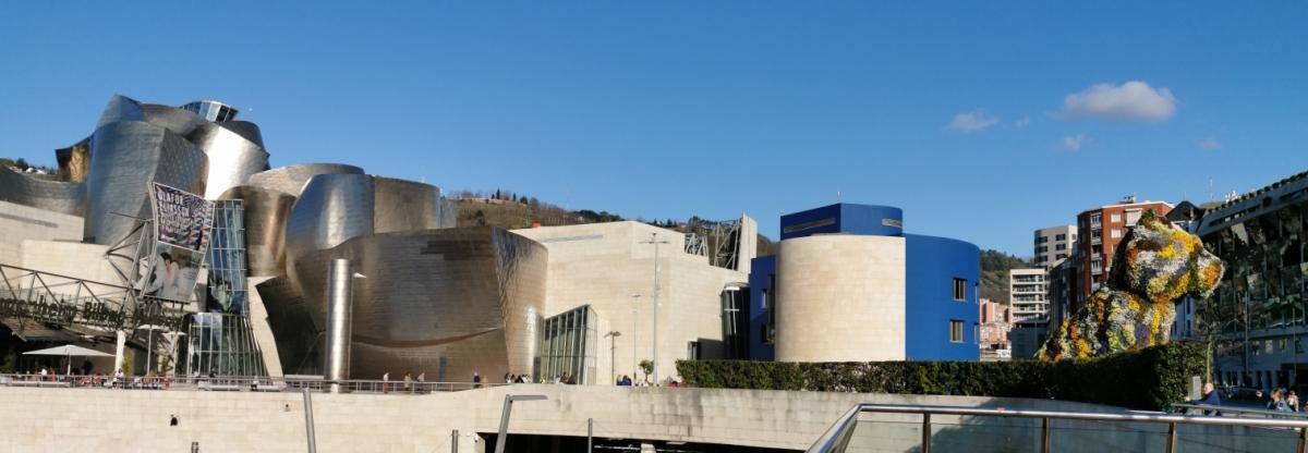 Bilbao Guggenheim Museum May 2021m